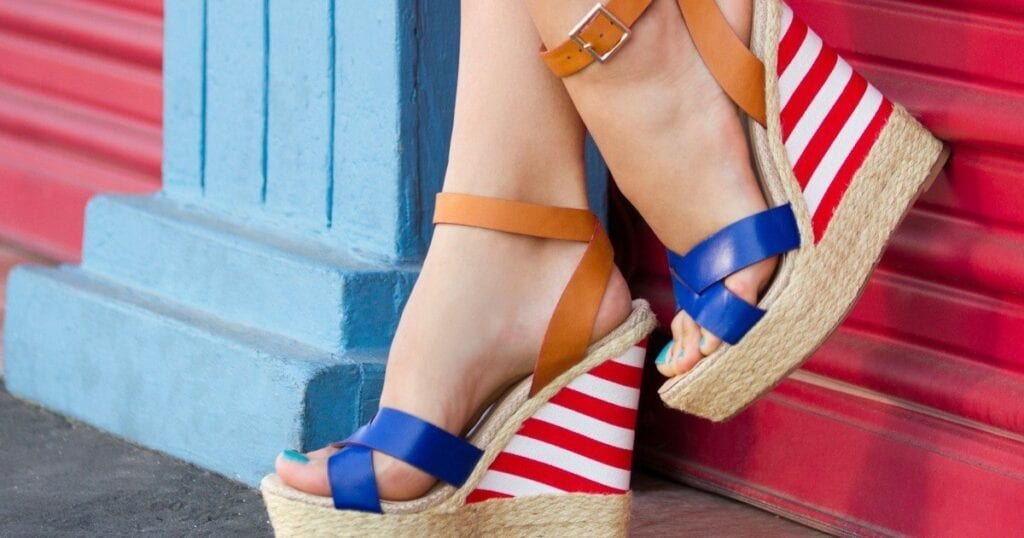 The Perfect Shoes to Wear on the 4th of July, 2016