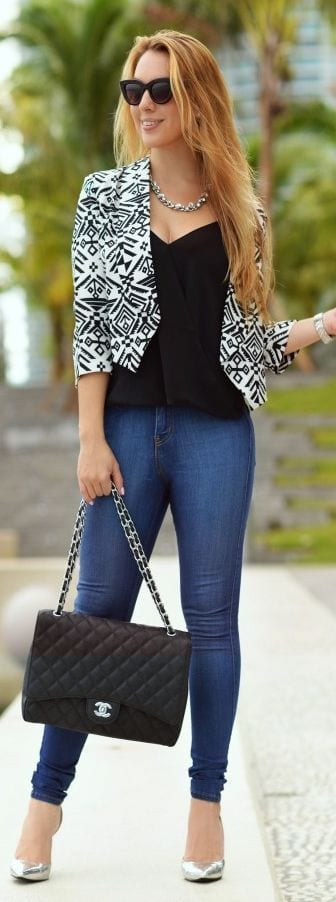 outfits for printed blazers (23)