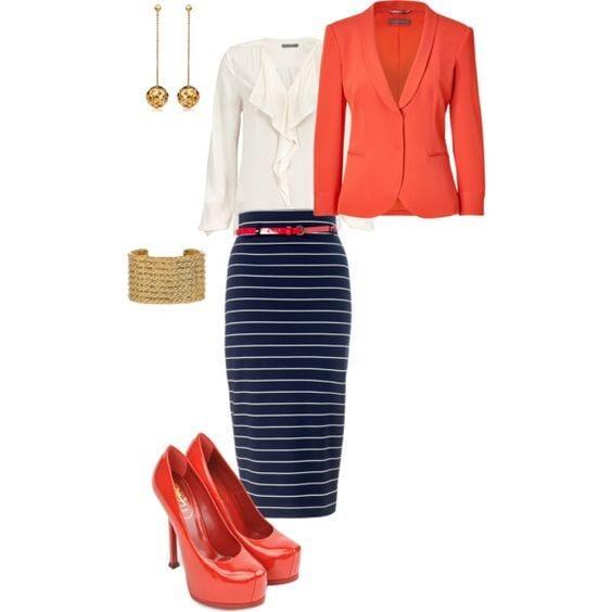 Stylish ways for curvy and plus size women to wear Blazer (7)