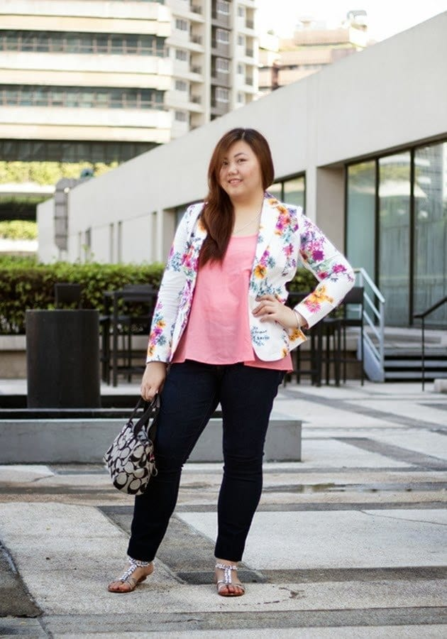Stylish ways for curvy and plus size women to wear Blazer (2)