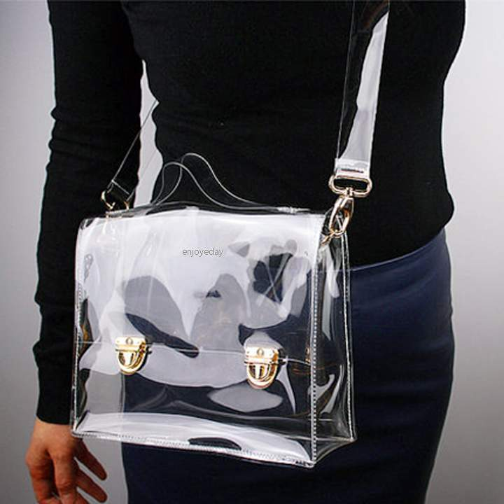 How To Wear Clear Bags And Purses To Work