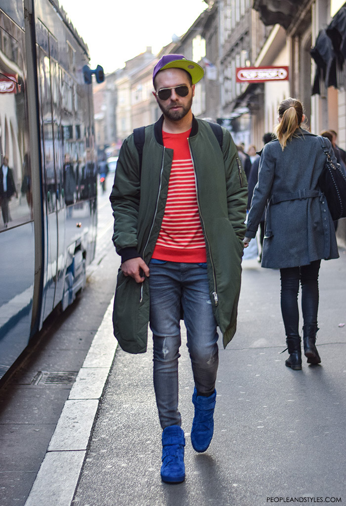 8758bcd3ae How to Wear Bomber Jacket Men-18 Outfits with Bomber Jackets