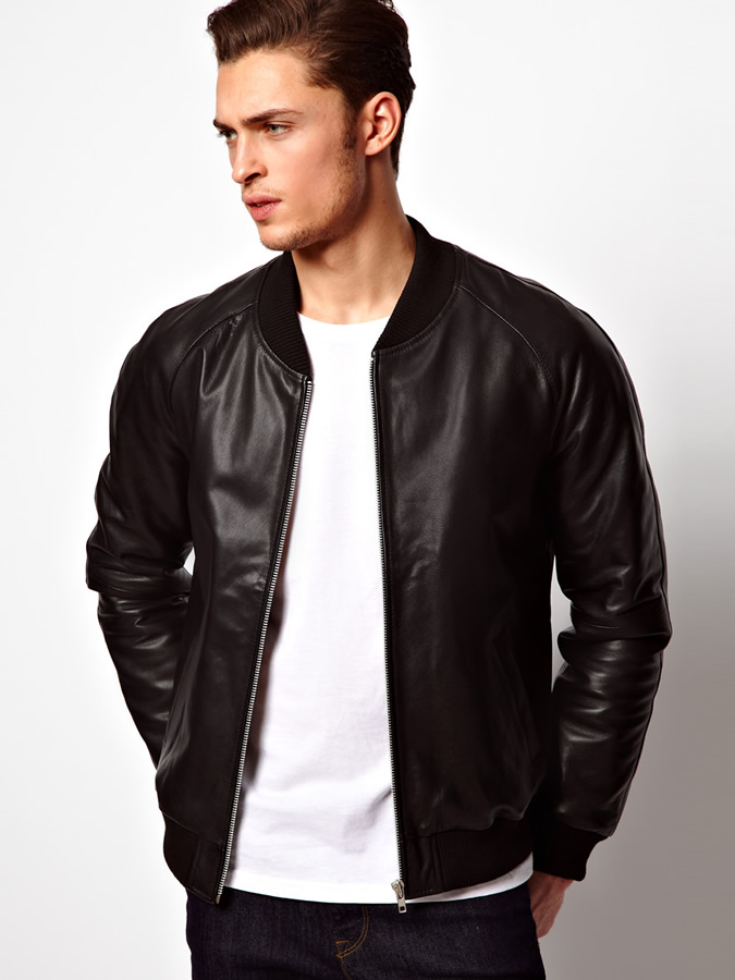 d0af888989d How to Wear Bomber Jacket Men-18 Outfits with Bomber Jackets