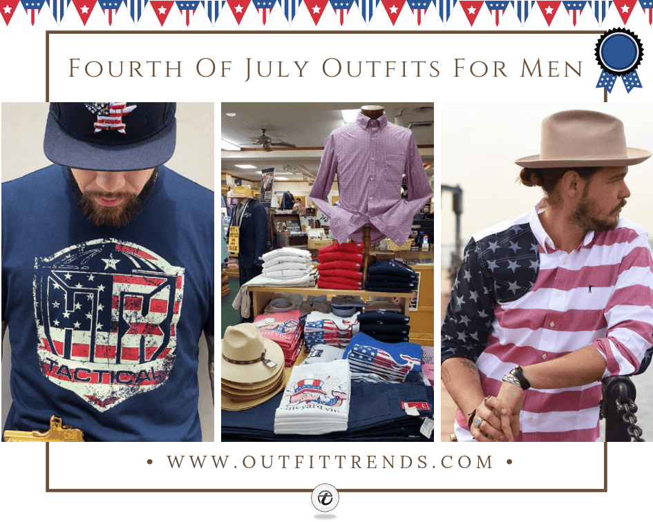 what to wear on 4th july men