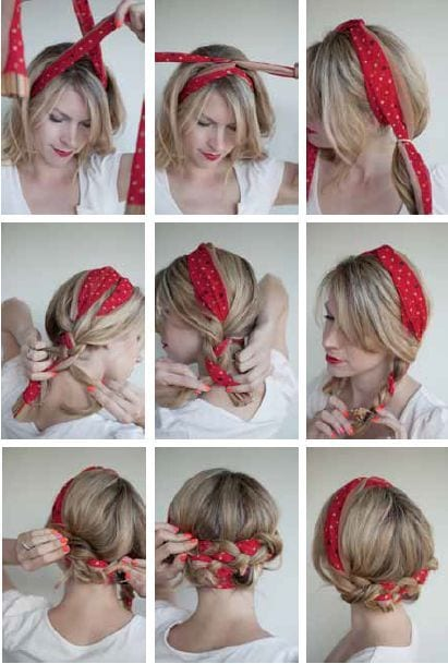 camping hairstyles girls