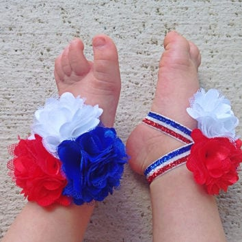 baby girl 4th july outfit shoes