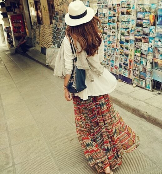 Gypsy Skirts Outfits (11)