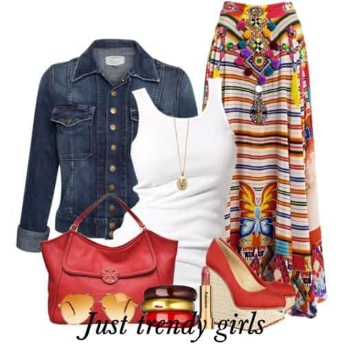 Gypsy Skirts Outfits (8)