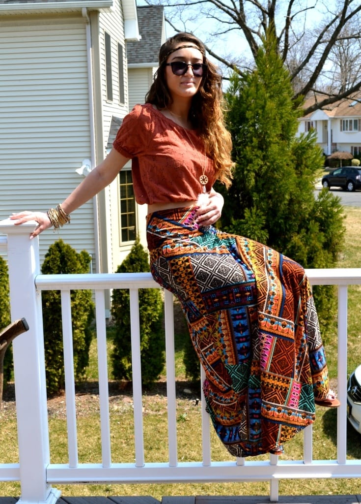 deas How to Wear Hippie Skirts. (16)