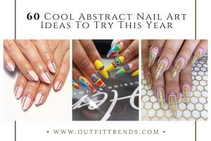 Elevate Your Beauty Game With These Chic Abstract Nail Art Designs (60)