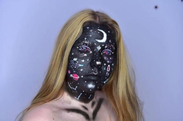 Get Inspired With These Cool Halloween Makeup Looks (2)