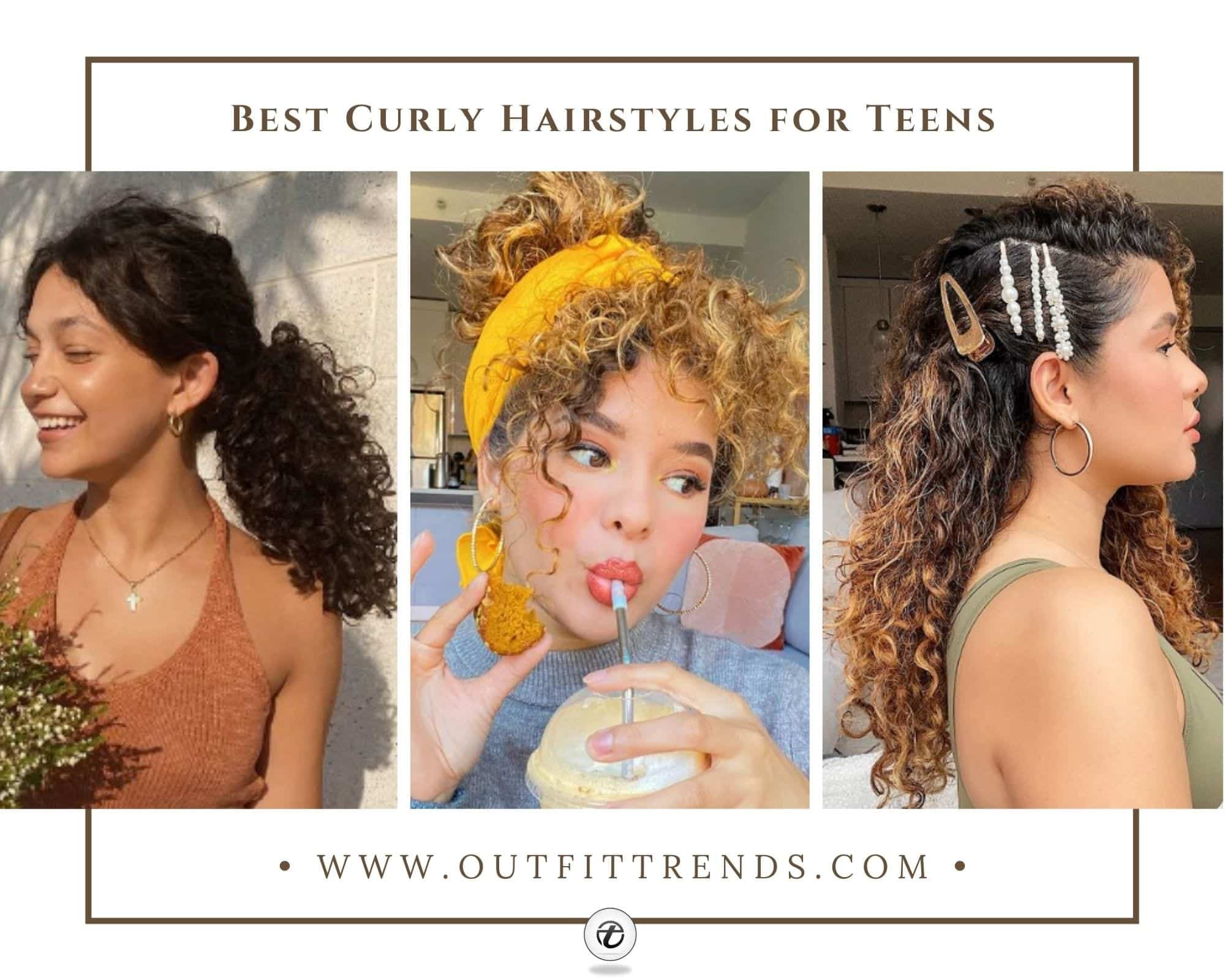 Curly Hairstyles for Teenage Girls | 25 Best Styles to Try
