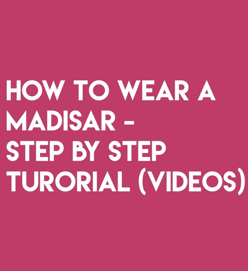 How To Wear A MadisarTutorial Videos For Beginners