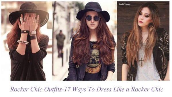 Rocker Chic Outfits-17 Ways To Dress Like a Rocker Chic