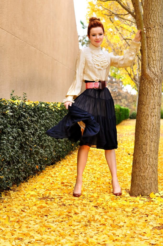 peasant skirt outfit ideas (11)