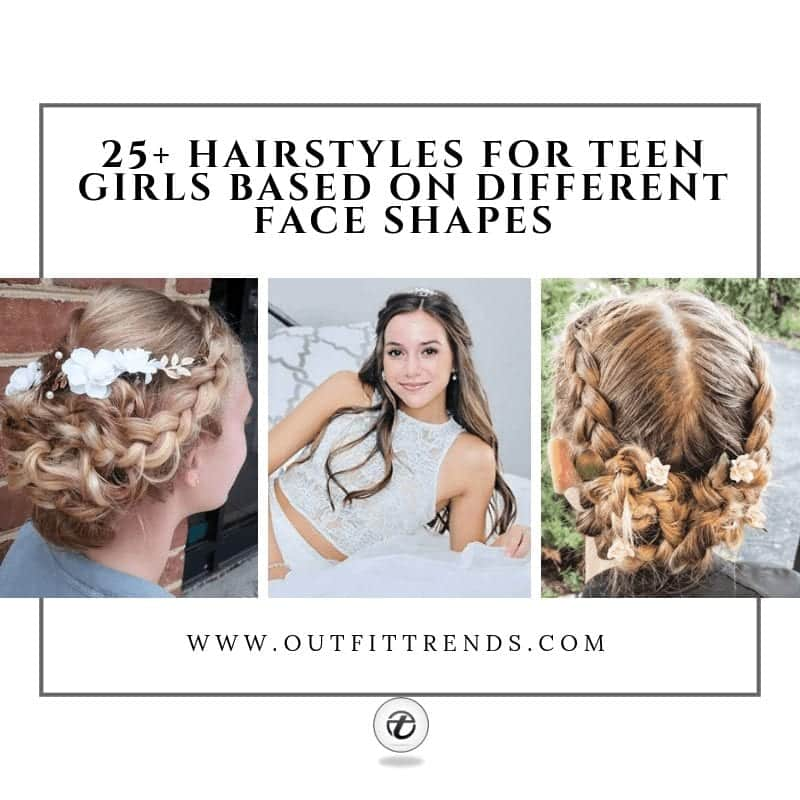 latest hairstyles for teenage girls face shape