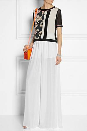 How to Wear White Wide Leg Pants (10)