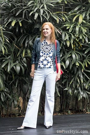 How to Wear White Wide Leg Pants (6)