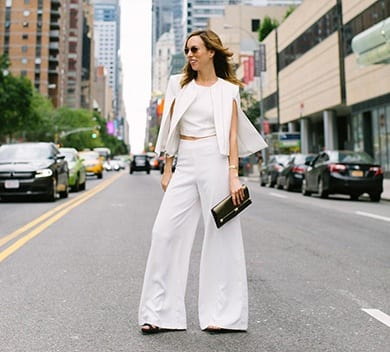 How to Wear White Wide Leg Pants (3)