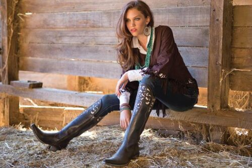 Ideas to wear Cowboy Boots (15)