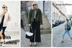How to Wear Outfits With Bomber Jacket (16)