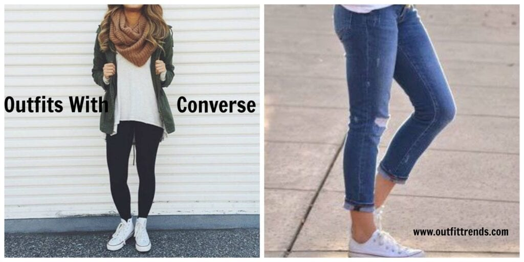 daf36909a86 Outfits With Converse-20 Stylish Ways to Wear Converse Shoes