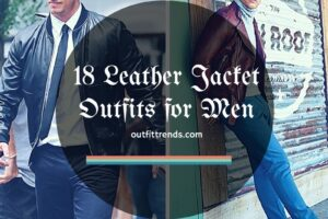 Ideas for Men to wear Leather Jackets (4)