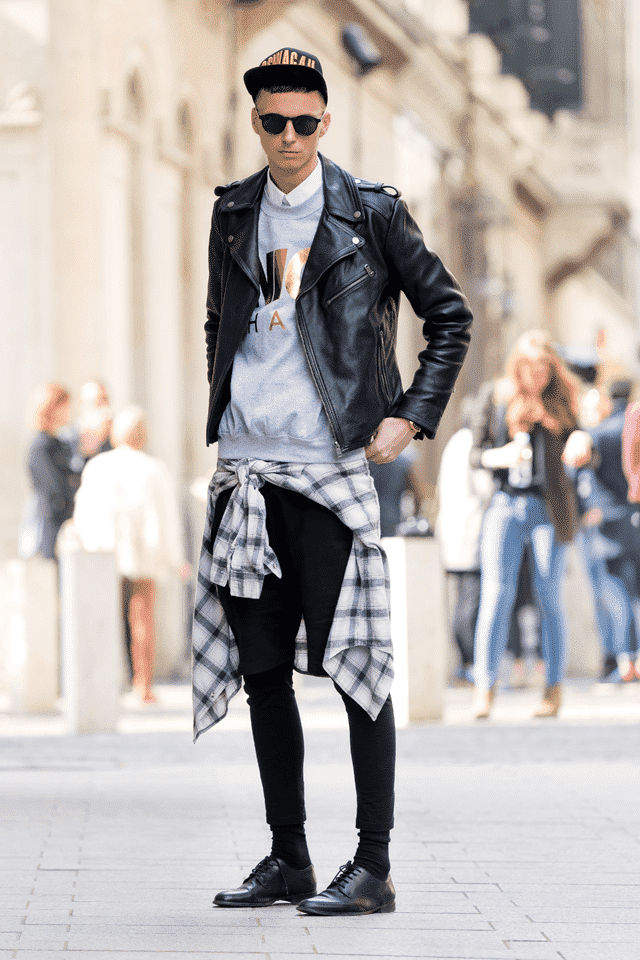 Leather Jacket Outfits For Men 18 Ways To Wear Leather Jackets