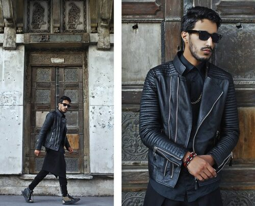 Ideas for Men to wear Leather Jackets (3)