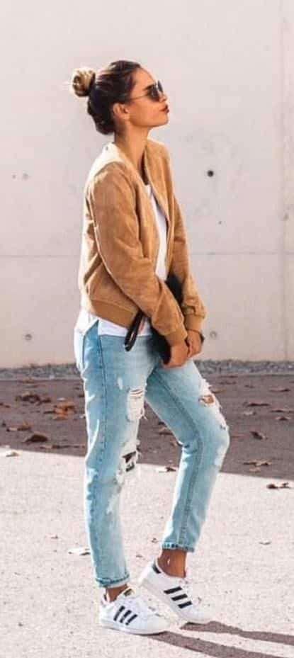 Outfits with Bomber Jackets-13 Ways to Style a Bomber Jacket