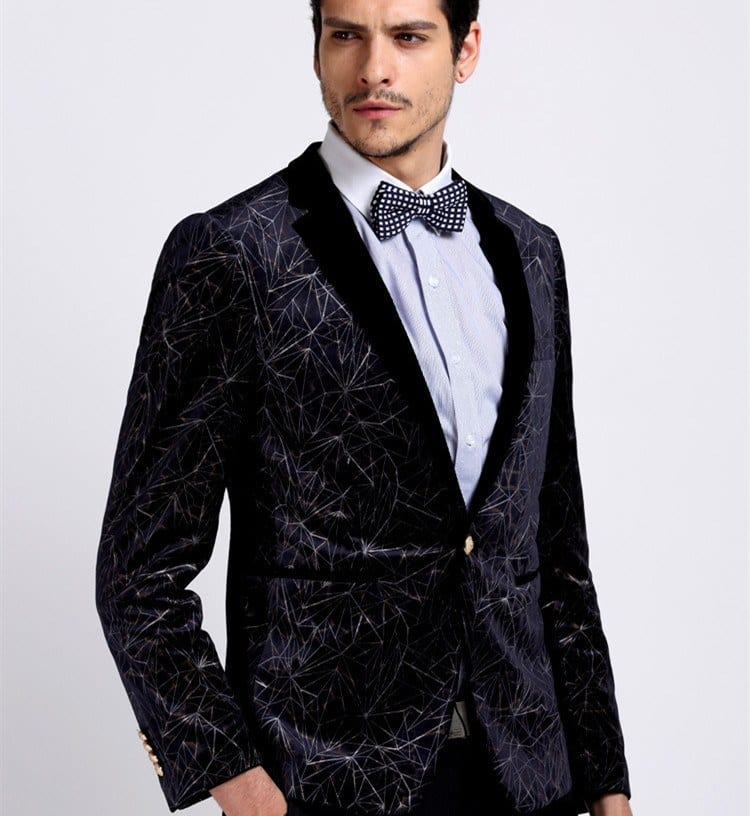 55959f548 Men Velvet Blazer Outfits-17 Ideas on How to Wear Velvet Blazer