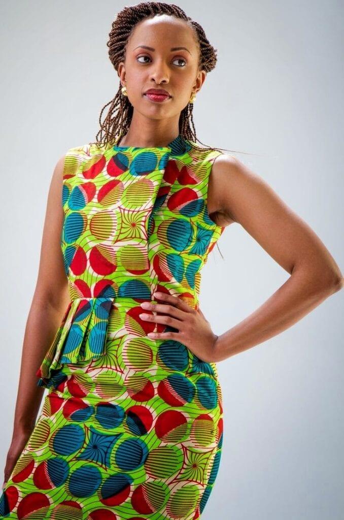 kitenge dress - afrikanza