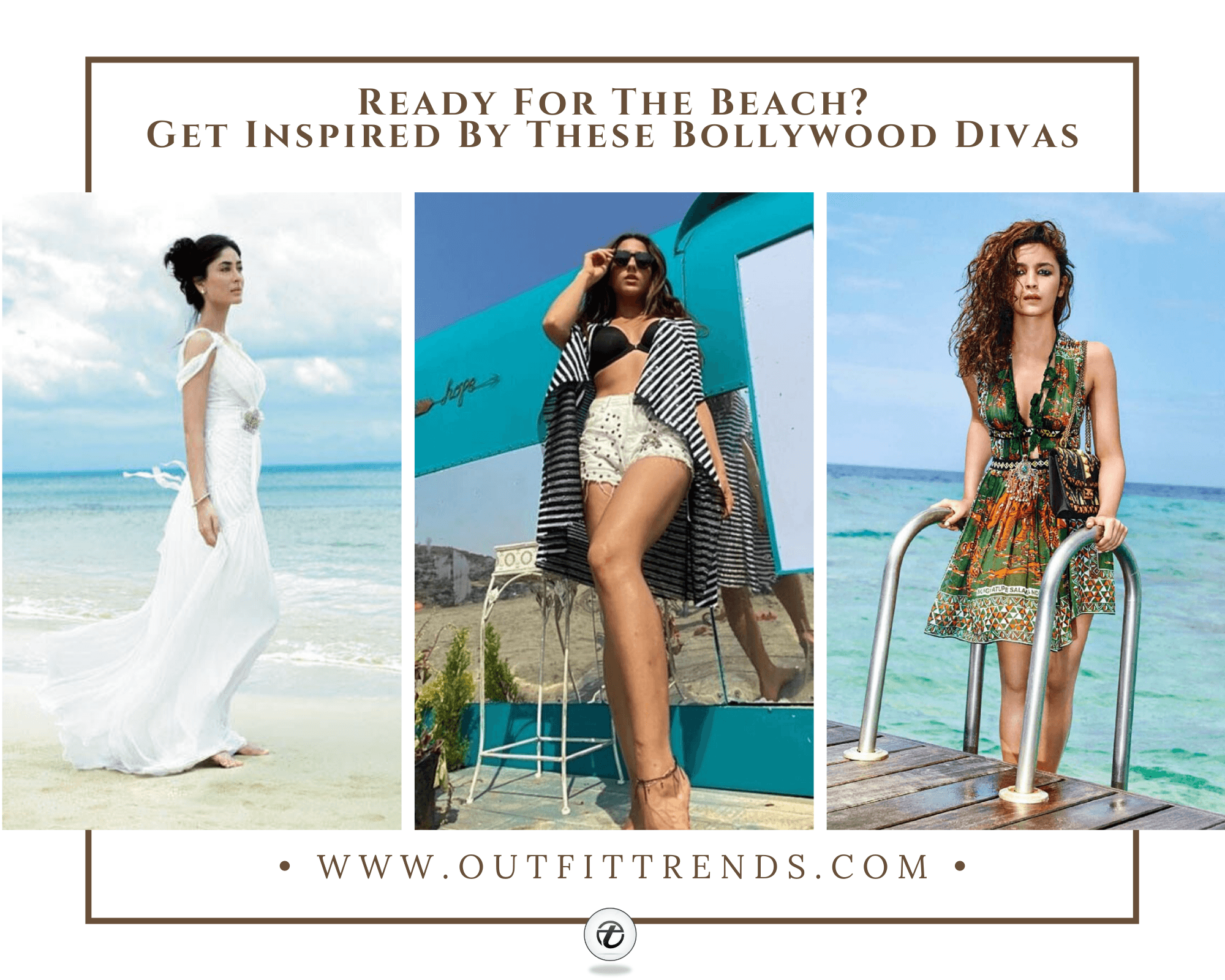 40 Bollywood Celebrity Beach Outfits That You'll Love