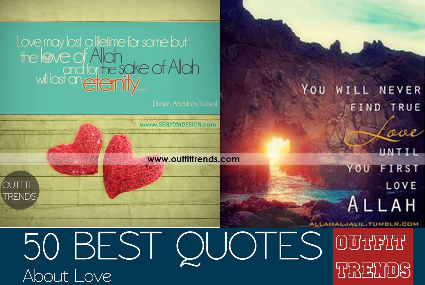 Islamic Quotes About Love-50 Best Quotes About Love in Islam foto