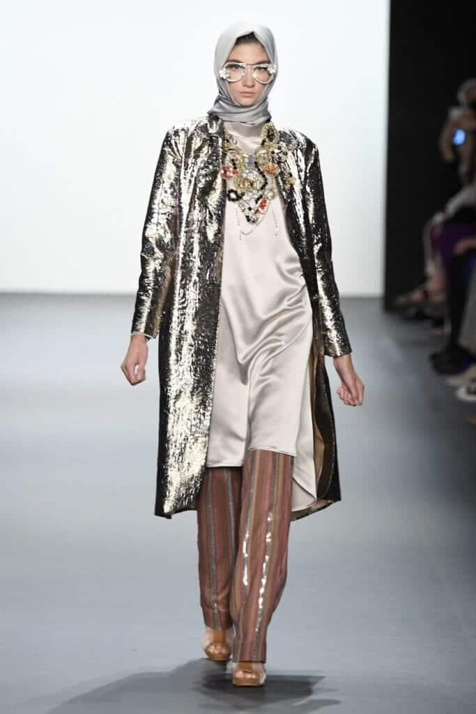Hijab Collection in NYFW (5)