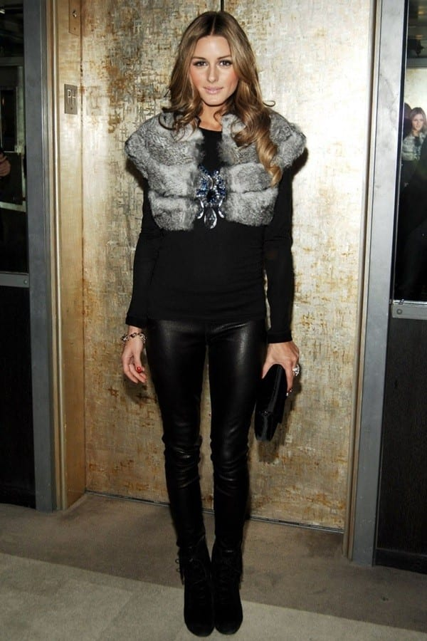 winter outfits with furs (7)