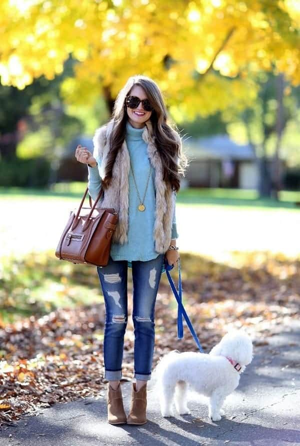 winter outfits with furs (5)
