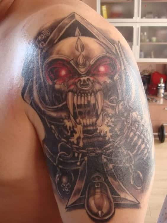 Heavy Metal Tattoos 27 Most Bad ass Tattoos Designs Ever