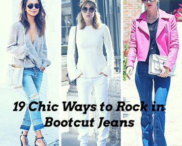 Ideas to wear Bootcut jeans with style (2)