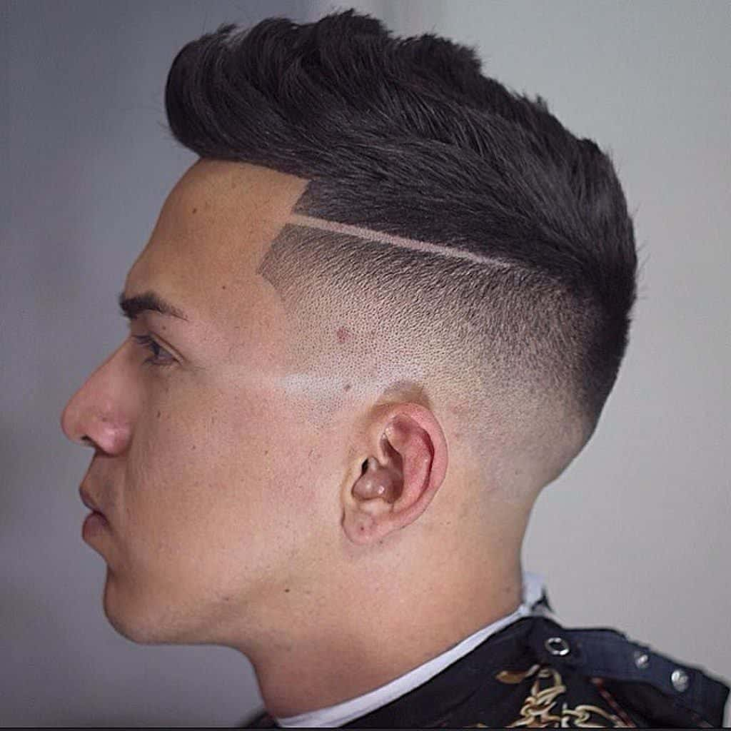 Undercut hairstyle for men (27)