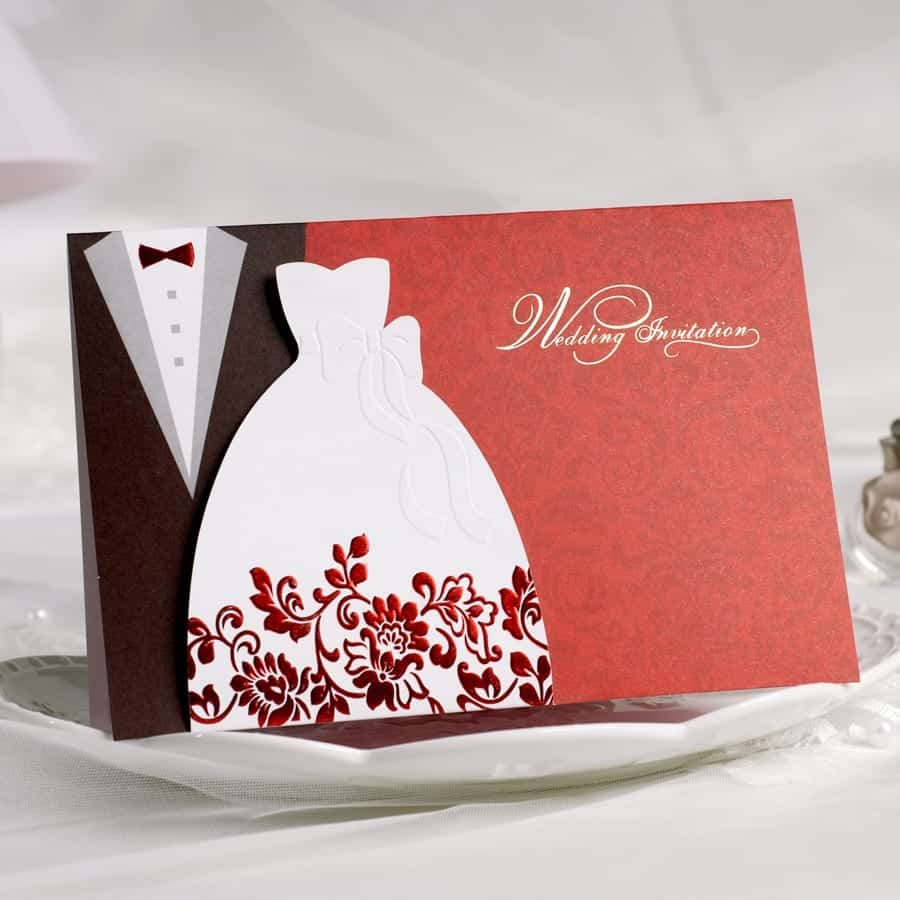 40 Most Elegant Ideas for Wedding Invitation Cards and Creativity
