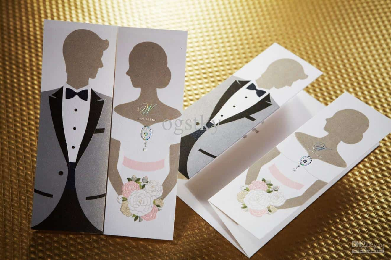 Invitation Cards For Wedding: 40 Best Wedding Invitation Cards And Creativity Ideas