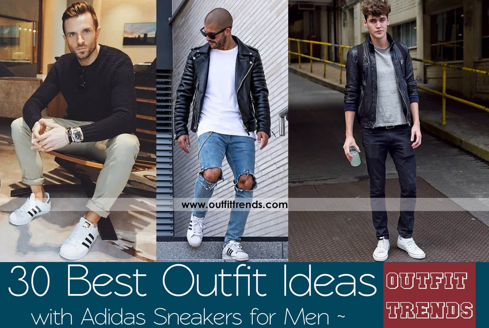 How To Style Adidas Superstar Men 18 Outfits With Adidas Sneakers