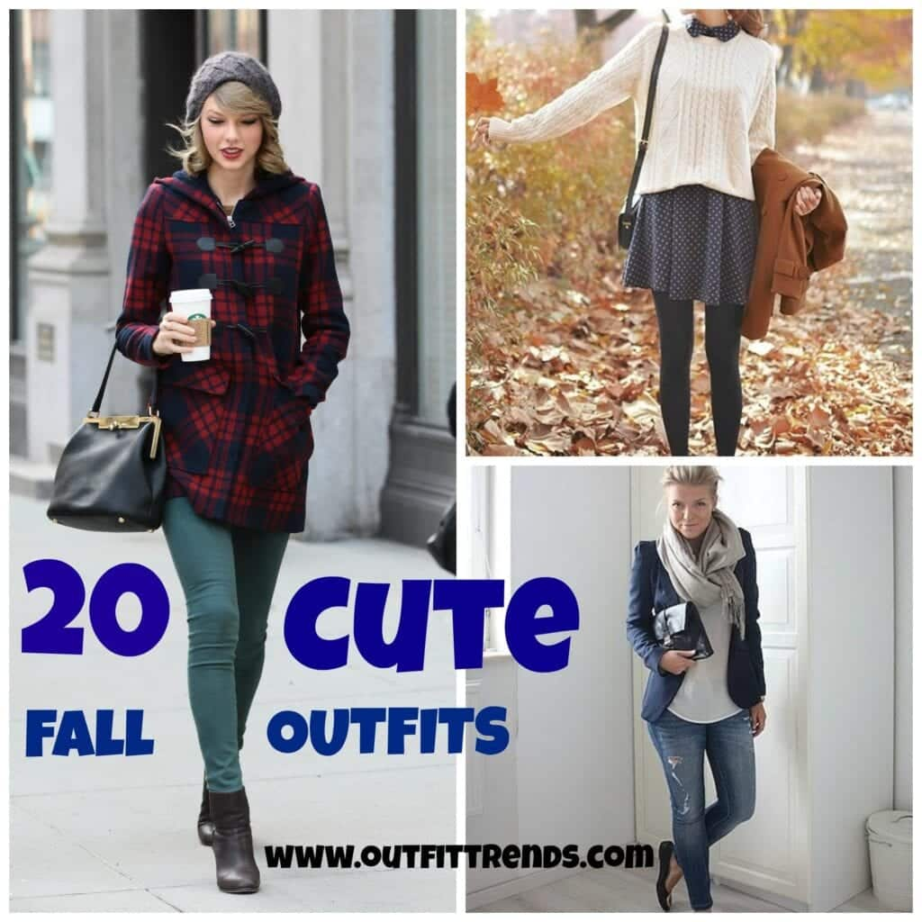 Cute Fall Outfits – 20 Latest Fall Fashion Ideas for Girls