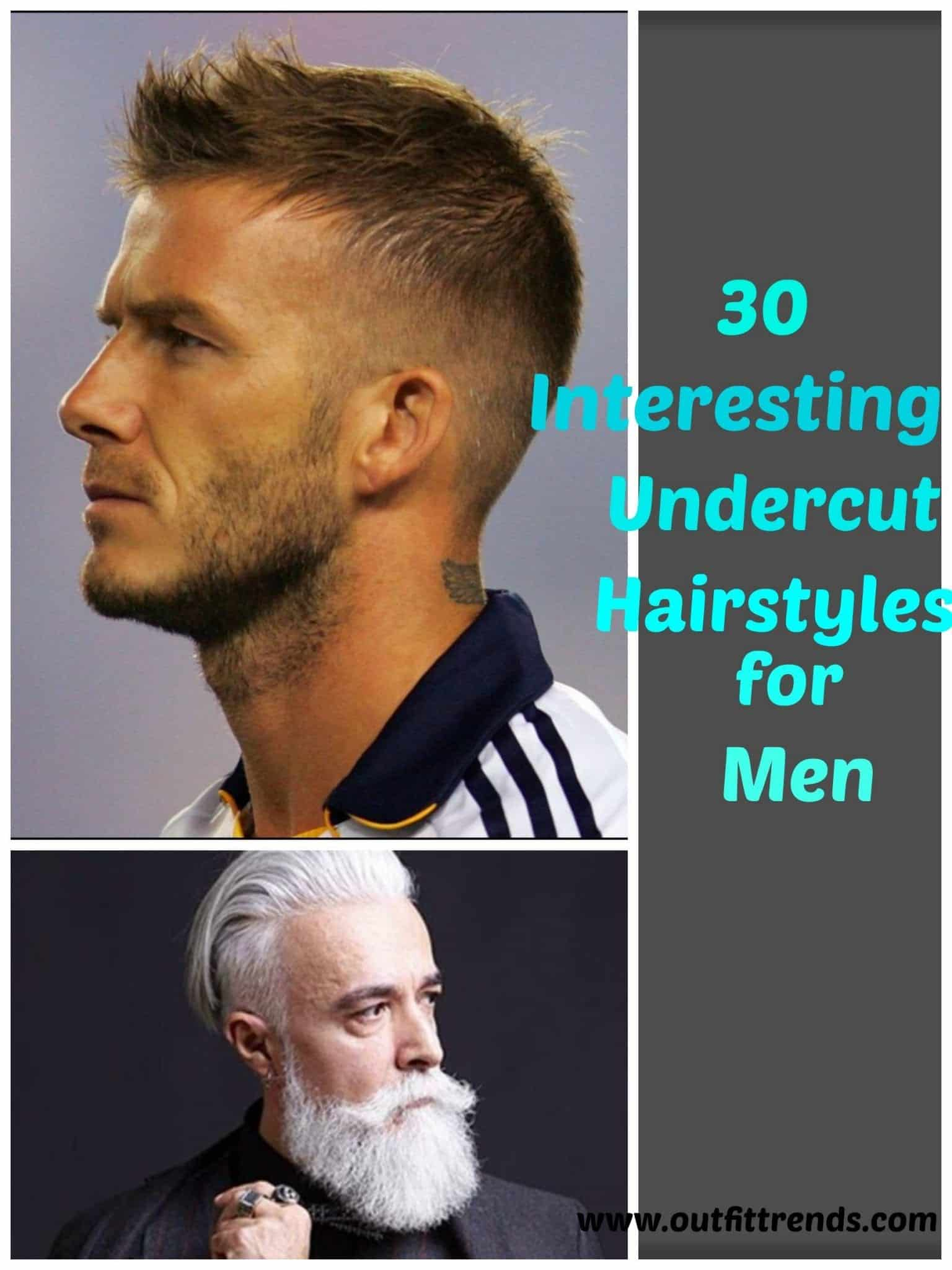 Mens Undercut Hairstyles 30 New Undercut Styles Trending