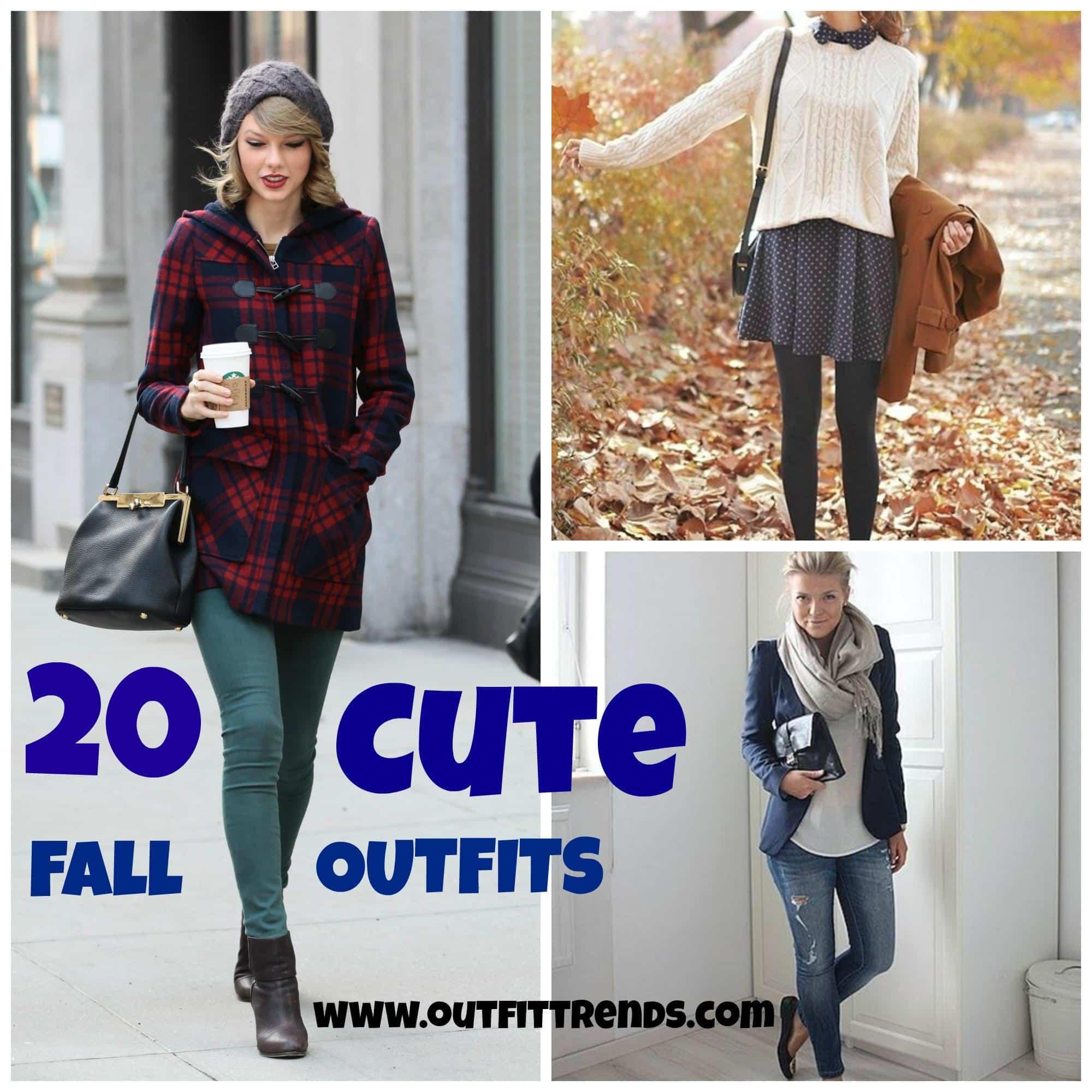 Cute Fall Outfits , 20 Latest Fall Fashion Ideas for Girls