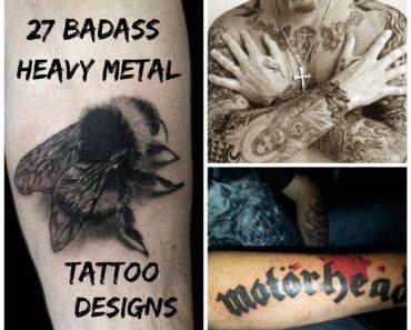 heavy metal tattoos ideas