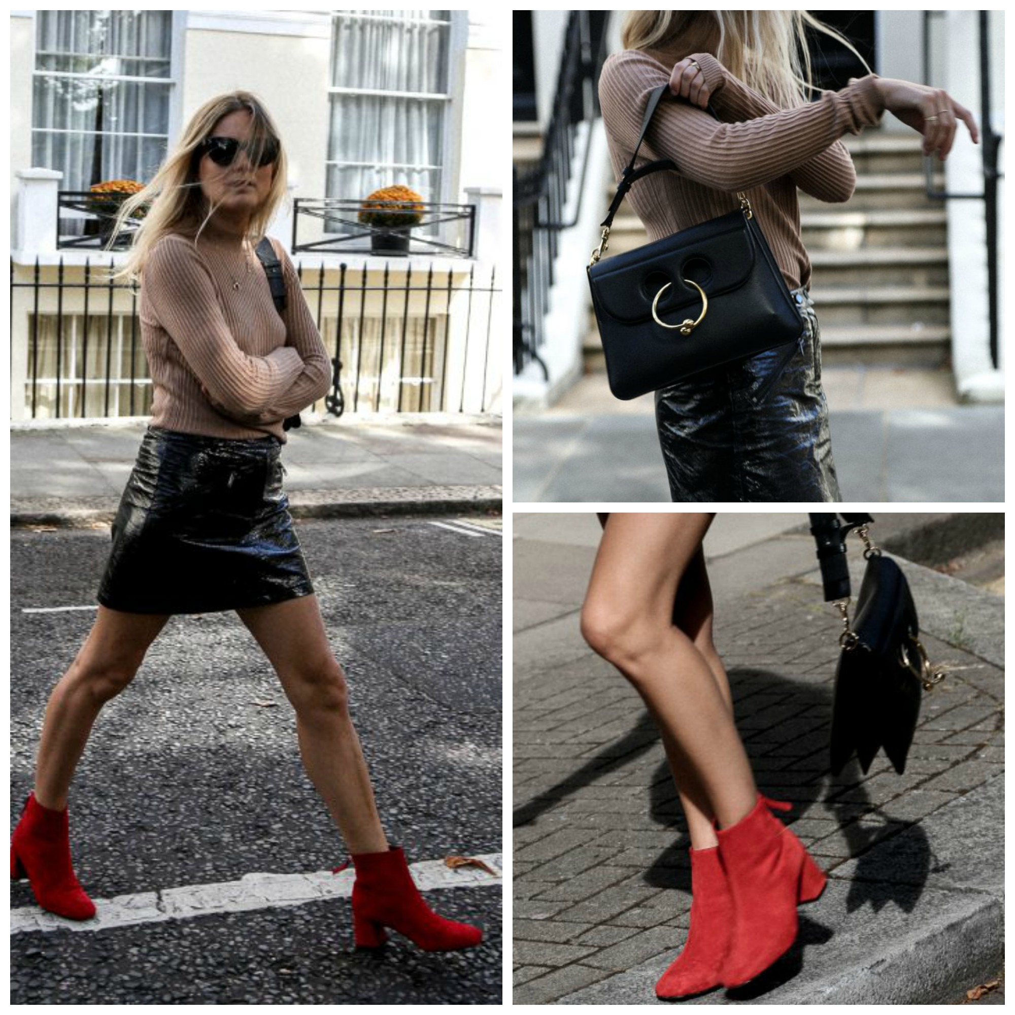 leather-skirt-with-ankle-boots
