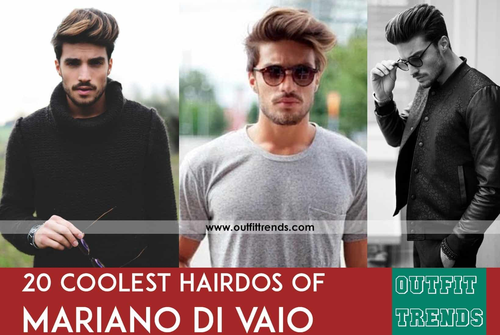 MDV Hairstyle Tutorials- 20 Best Haircuts of Mariano Di Vaio