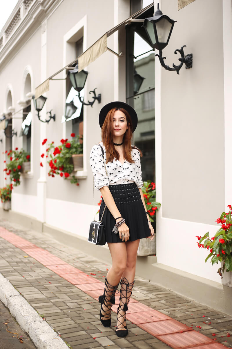 what shoes to wear with skirts (12)